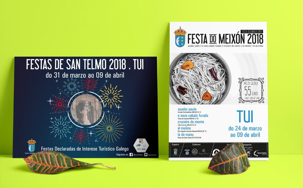 Imagen Carteles Fiestas de San Telmo y Angula