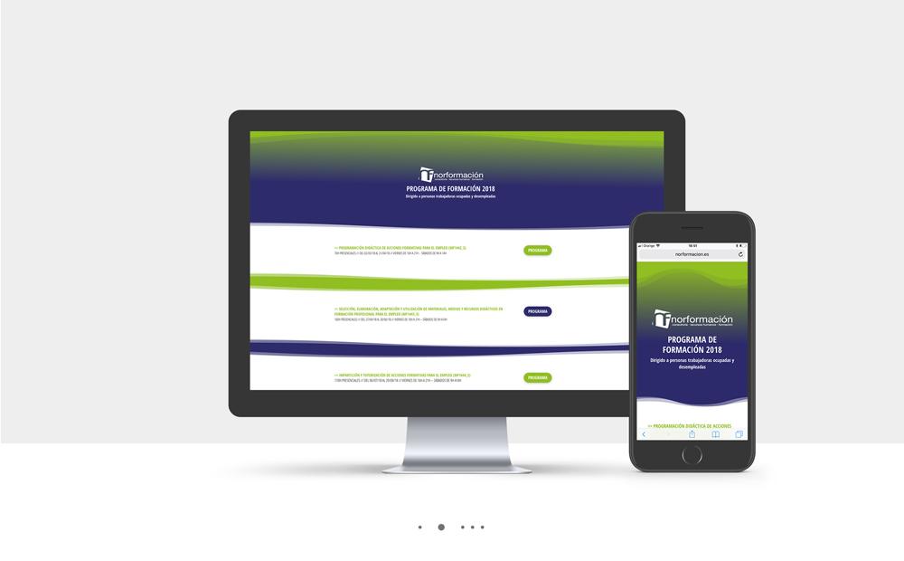 Imagen Landing Page Normformación